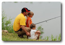 Fishing for the whole family.