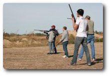 Trap shooting events.