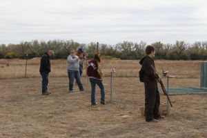 Trap shoot Day of the Halloween Party 2015